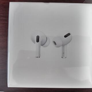 アップル(Apple)のAirPods pro 新品未使用未開封(ヘッドフォン/イヤフォン)