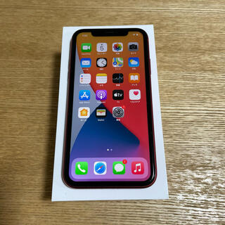iPhone - Apple iPhone 11 128GB PRODUCT RED 付属品未使用
