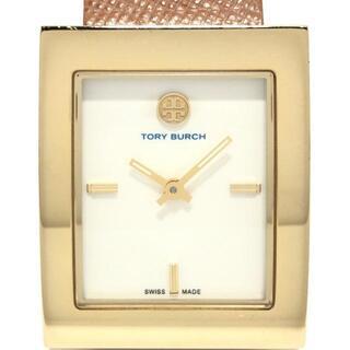 トリーバーチ(Tory Burch)のトリーバーチ - TRB2001 レディース 白(腕時計)