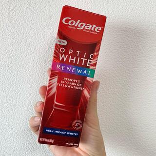【最新版】コルゲート Colgate オプティックホワイトリニューアル 85g(歯磨き粉)