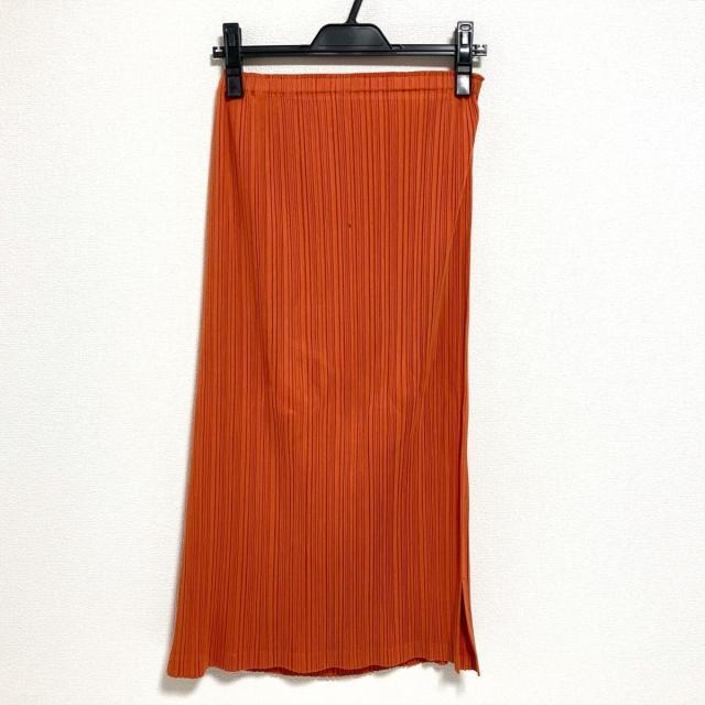 PLEATS PLEASE ISSEY MIYAKE(プリーツプリーズイッセイミヤケ)のプリーツプリーズ サイズ2 M レディース レディースのスカート(ロングスカート)の商品写真