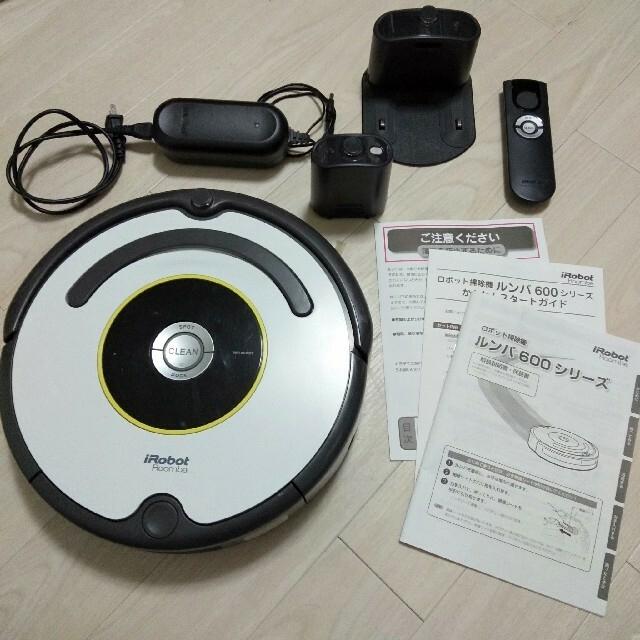 iRobot(アイロボット)の専用 iRobot Roomba ルンバ 620 スマホ/家電/カメラの生活家電(掃除機)の商品写真