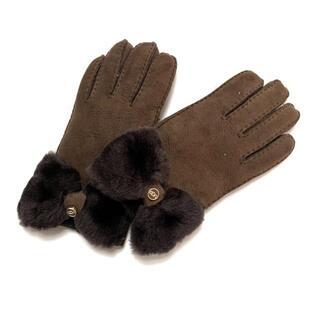 アグ(UGG)のUGG(アグ) レディース - リボン ムートン(手袋)