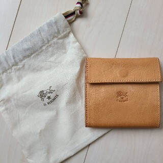 IL BISONTE - イルビゾンテ 折り財布 ヌメ革