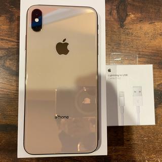 Apple - iPhone xs maxゴールド256G SIMフリー