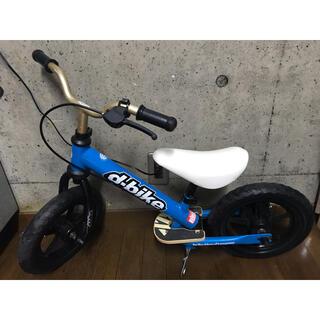 アイデス(ides)のd-bike★子ども★自転車★ブルー★12インチ★キックバイク★ペダルなし自転車(その他)