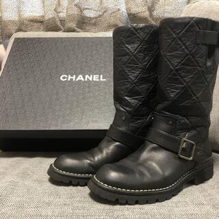 CHANEL - シャネル CHANEL エンジニアブーツ
