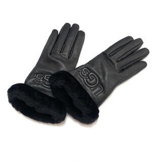 アグ(UGG)のUGG(アグ) レディース - 黒(手袋)
