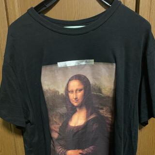 オフホワイト(OFF-WHITE)のoffwhite モナリザ tシャツ mサイズ(Tシャツ/カットソー(半袖/袖なし))