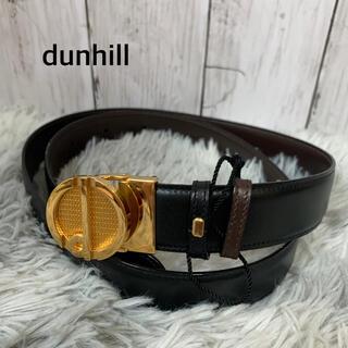 ダンヒル(Dunhill)の●美品●dunhill ダンヒル ベルト 金バックル(ベルト)