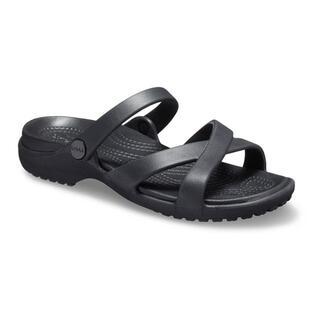 crocs - 23cm クロックス ケリー サンダル ブラック Kelli Sandal 黒