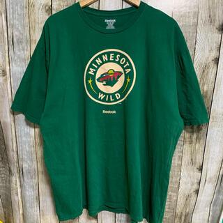 リーボック(Reebok)のReebokリーボック NHL ミネソタワイルド Tシャツ(Tシャツ/カットソー(半袖/袖なし))