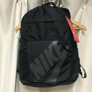 ナイキ(NIKE)の【新品】NIKE ブラック スウッシュ  バックパック(リュック/バックパック)