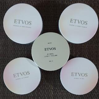 エトヴォス(ETVOS)の【残量多◇5点セット売り】エトヴォス 日焼け止めフェイスパウダー ボディパウダー(フェイスパウダー)