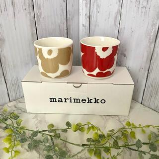 marimekko - おまけ付き♬マリメッコ ラテマグ  2個セット ウニッコ