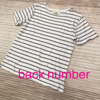 バックナンバー(BACK NUMBER)のback number☆コットンリネン  Tシャツ(Tシャツ/カットソー(半袖/袖なし))