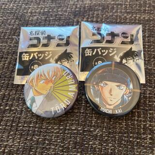 ショウガクカン(小学館)の名探偵コナン缶バッジセット☆(バッジ/ピンバッジ)