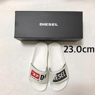 DIESEL - DIESEL スライドサンダル 23.0cm