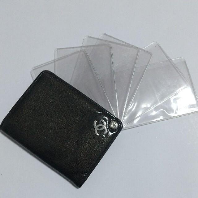 CHANEL(シャネル)のレア美品★CHANEL シャネル エナメル カードケース ココマーク レディースのファッション小物(名刺入れ/定期入れ)の商品写真