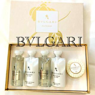 ブルガリ(BVLGARI)のBVLGARI オ・パフメ オーテブラン アメニティセット ギフト 箱 ブルガリ(サンプル/トライアルキット)