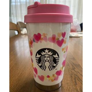Starbucks Coffee - スタバ バレンタイン2019 ステンレスタンブラー (355ml)