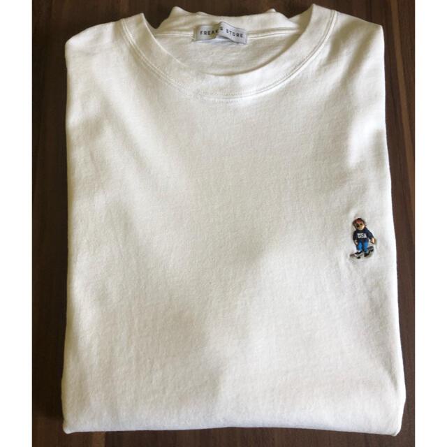 FREAK'S STORE(フリークスストア)のfreak's store ベアーロゴ ロングTシャツ メンズのトップス(Tシャツ/カットソー(七分/長袖))の商品写真