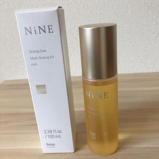 ホーユー(Hoyu)の新品未使用品 NiNE ナイン マルチスタイリングオイル リッチ(オイル/美容液)