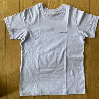 モンベル(mont bell)のモンベル Tシャツ 半袖 無地 ラベンダー 薄紫 綿100% L(Tシャツ(半袖/袖なし))