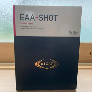 アジノモト(味の素)のRIZAP EAA-SHOT アセロラ味 新品未使用 ライザップ(アミノ酸)