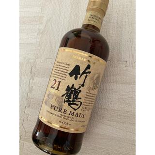 ニッカウイスキー(ニッカウヰスキー)の竹鶴21年ピュアモルト(ウイスキー)