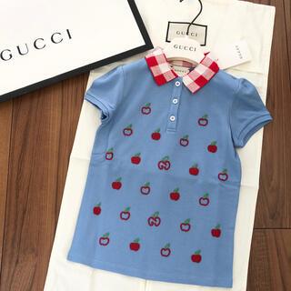 グッチ(Gucci)の【お取置き中】グッチチルドレン 新品ポロシャツ 6Y(Tシャツ/カットソー)