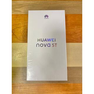 HUAWEI - 【超美品/クリアケース保護フィルム付属】HUAWEI nova5T/SIMフリー