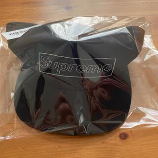 シュプリーム(Supreme)のSupreme KAWS Chalk Logo 5-Panel 黒 カウズ(キャップ)