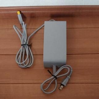 ウィーユー(Wii U)の任天堂 純正品 Wii U ACアダプターのみ(家庭用ゲーム機本体)