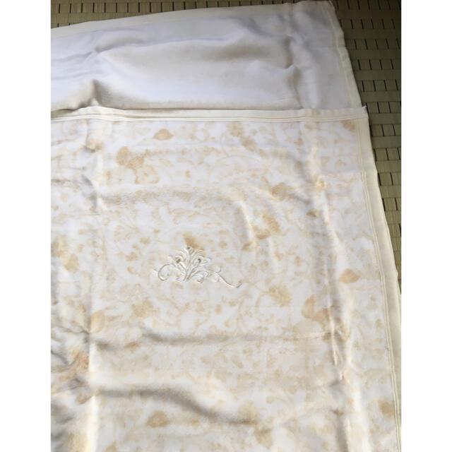 綿毛布 新品 日本製 インテリア/住まい/日用品の寝具(毛布)の商品写真