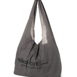 ニコアンド(niko and...)のニコ★マルシェBAG★グレー(エコバッグ)