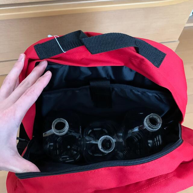 FILA(フィラ)のFILA リュック 赤色 新品未使用 メンズのバッグ(バッグパック/リュック)の商品写真