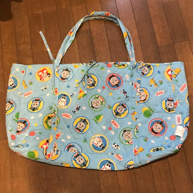 西川(ニシカワ)のお昼寝布団バック トーマス  キッズ/ベビー/マタニティのこども用バッグ(通園バッグ)の商品写真