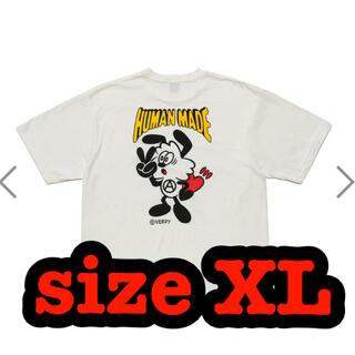 シュプリーム(Supreme)のHUMAN MADE × verdy Vick TSHIRT #2 XL(Tシャツ/カットソー(半袖/袖なし))