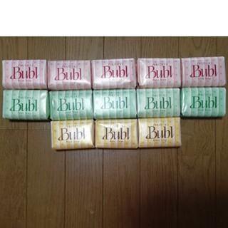 シセイドウ(SHISEIDO (資生堂))の資生堂石鹸バブル 3種 13個セット 新品未使用(ボディソープ/石鹸)