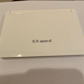 CASIO - EX-word XD-N3800 ホワイトCASIO電子辞書  中学生モデル