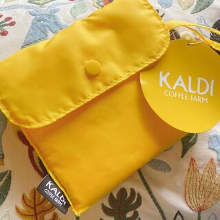 KALDI - KALDI カルディ エコバッグ イエロー