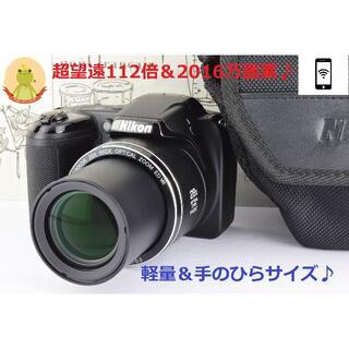 ニコン(Nikon)の★超美品★スマホ転送&超望遠112倍★2016万画素★クールピクスL340★(コンパクトデジタルカメラ)