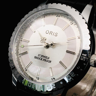オリス(ORIS)のゴージャス【オリス ORIS】腕時計/メンズ/シルバー/機械式手巻き/ビンテージ(腕時計(アナログ))