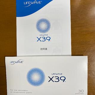 ◆LIFE WAVE X39  ライフウェーブ X39(30枚入り)1個