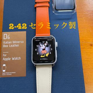 Apple Watch - 希少Apple watch 2-42 ホワイトセラミック