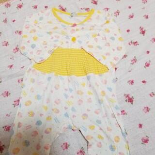 ニシマツヤ(西松屋)の薄手長袖パジャマ  80センチ(パジャマ)