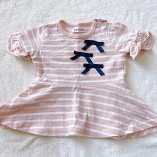 シマムラ(しまむら)のトップス 70 女の子(Tシャツ)