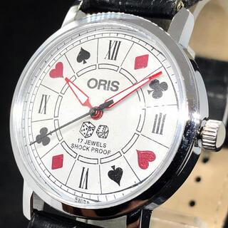 オリス(ORIS)の【お洒落】オリス/ORIS/メンズ腕時計/Vintage/サイコロ/ダイス(腕時計(アナログ))