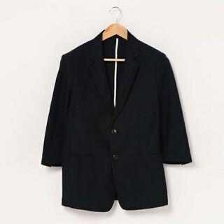 カスタムカルチャー(CUSTOM CULTURE)のCUSTOM CULTURE テーラードジャケット COOLMAX 七分袖(テーラードジャケット)